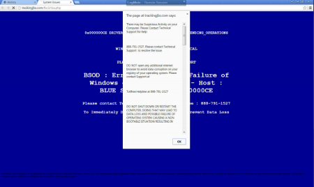 ib blue screen